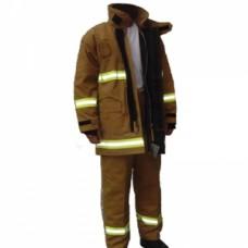 Quần áo chống cháy 4 lớp màu cát