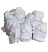 Giẻ lau cotton trắng các cỡ